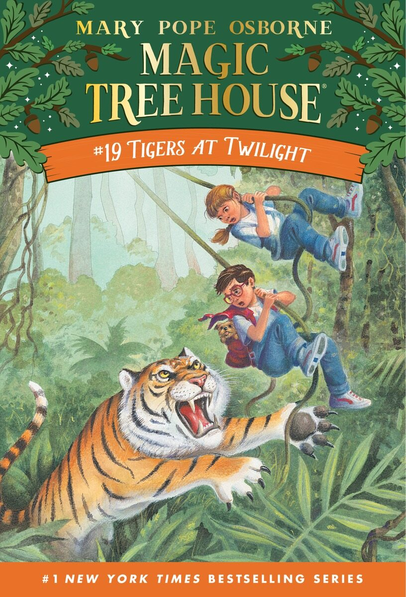 Magic Tree House #19 : Tigers at Twilight (Paperback)