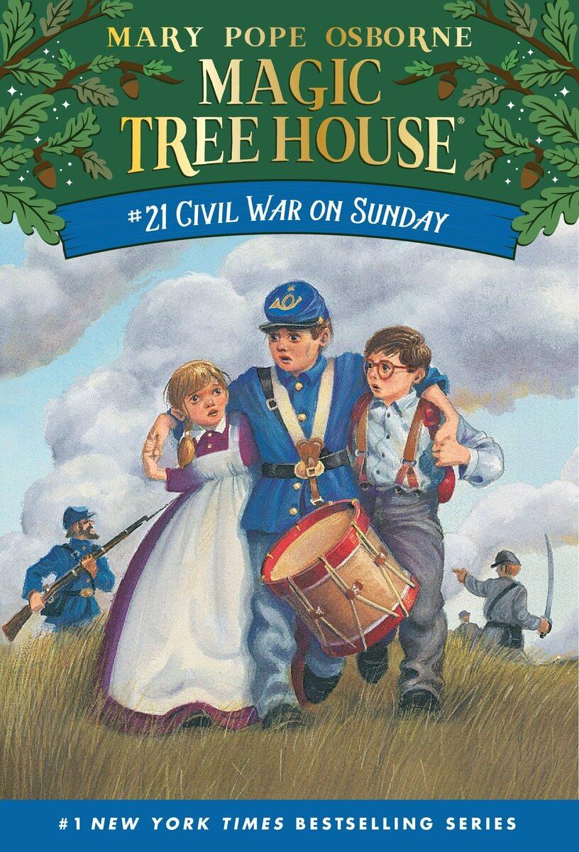 Magic Tree House #21 : Civil War on Sunday (Paperback)