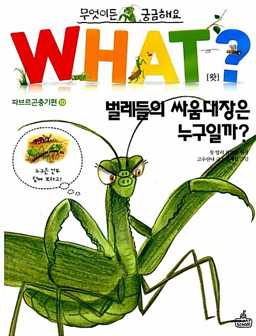 WHAT 왓? 22 벌레들의 싸움대장은 누구일까?