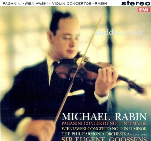 [수입] 파가니니: 바이올린 협주곡 1번 / 비에니아프스키: 바이올린 협주곡 2번 [180g LP]
