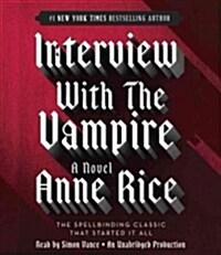 Interview with the Vampire (Audio CD, Unabridged)
