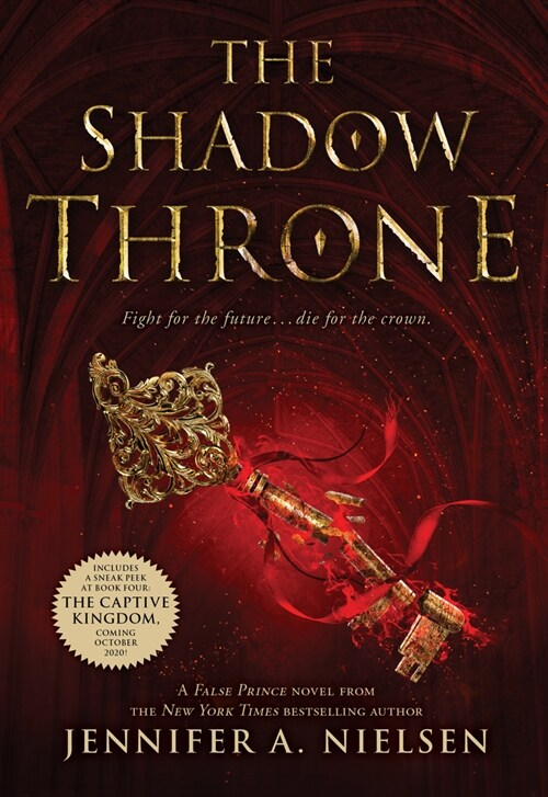 The Shadow Throne (the Ascendance Series, Book 3), Volume 3 (Paperback)