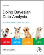 Doing Bayesian Data Analysis: A Tutorial with R, Jags, and Stan (Hardcover, 2, Revised)