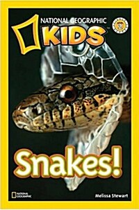 National Geographic Readers: Snakes! (Paperback)