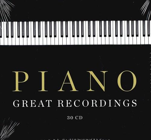 [수입] 그레이트 피아노 레코딩스 [30CD Boxset]