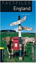 Oxford Bookworms Library Factfiles: Level 1:: England audio CD pack (Paperback)