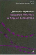 Continuum Companion to Research Methods in Applied Linguistics (Paperback)
