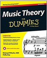 Music Theory for Dummies (Paperback, 3, Revised)