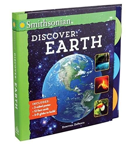[중고] Smithsonian Discover: Earth (Spiral)