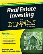 Real Estate Investing for Dummies (Paperback, 3)