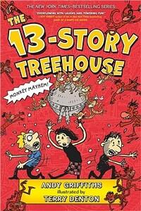 The 13-Story Treehouse: Monkey Mayhem! (Paperback)
