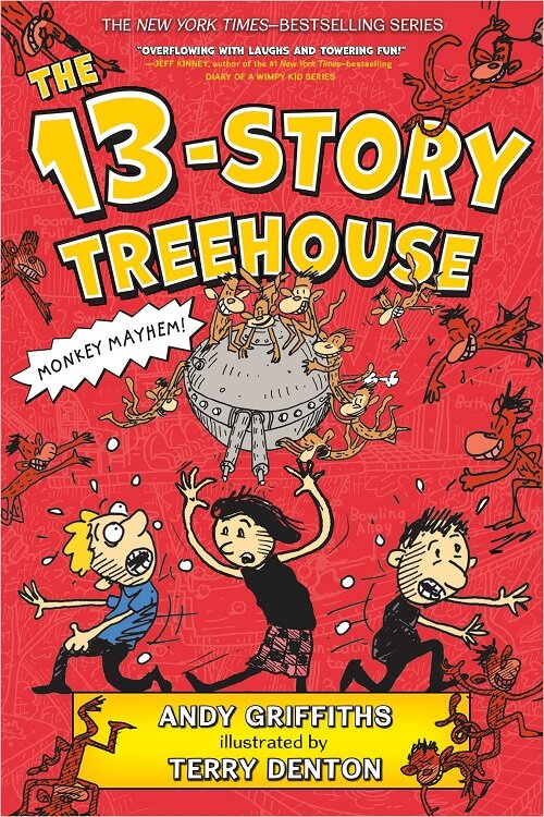 The 13-Story Treehouse: Monkey Mayhem! (Paperback)