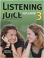 Listening Juice For Junior 3 (Paperback, 교재별매)