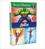 World of Reading Avengers Boxed Set: Level 1 (Boxed Set, Paperback)