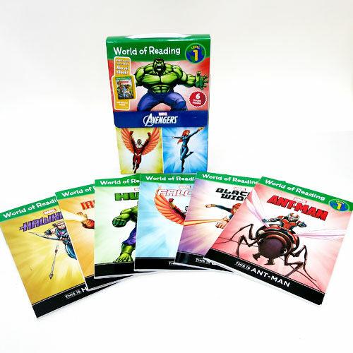World of Reading Avengers Boxed Set: Level 1 [With E Books] (Boxed Set, Paperback)
