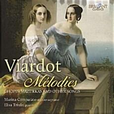 [수입] Pauline Viardot : Melodies (Chopin Mazurkas and other Songs)