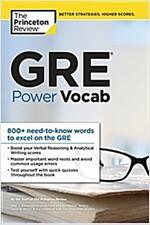 GRE Power Vocab (Paperback)