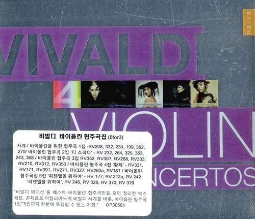[수입] 비발디 : 바이올린 협주곡집 [6 for 3]