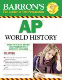 Barron's AP World History (Paperback, 4th)