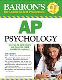 Barrons AP Psychology (Paperback, 4th)