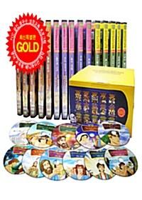 국내 최고의 영어 성경 - 성서 애니메이션 DVD 15장 세트 (15DISC)