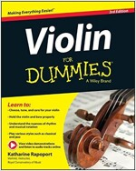 Violin for Dummies, Book + Online Video & Audio Instruction (Paperback, 3, Revised)