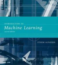 Introduction to machine learning 2nd ed
