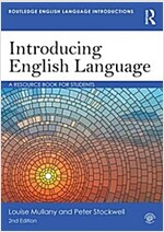 Introducing English Language : A Resource Book for Students (Paperback, 2 New edition)