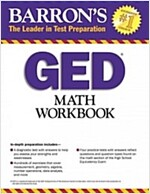 Math Workbook for the GED Test (Paperback, 4)