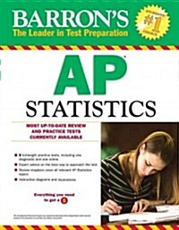 Barrons AP Statistics, 8th Edition (Paperback, 8, Revised)