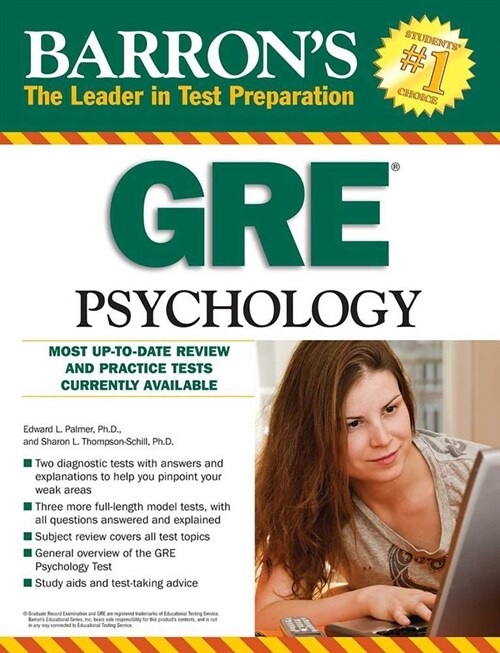 GRE Psychology (Paperback, 7)