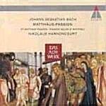[수입] Johann Sebastian Bach / Matthaus-Passion / Nikolaus Harnoncourt