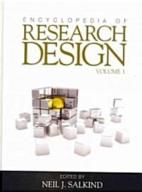 Encyclopedia of Research Design (Hardcover, New)