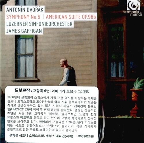 [수입] 드보르작 : 교향곡 6번, 아메리카 모음곡 Op.98b