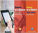 Medicine at a Glance 4E Text and Cases Bundle (Paperback, 4 Revised edition)