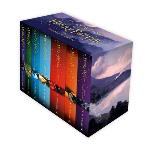 Harry Potter Box Set: The Complete Collection (Childrens Paperback) (Package)
