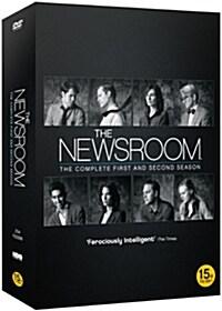 뉴스룸 : 시즌 1 & 2 박스세트 (7disc 한정판)