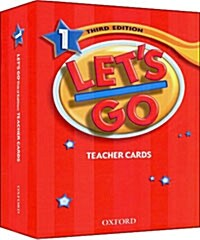 Lets Go: 1: Teacher Cards (Cards)