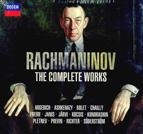 [수입] 라흐마니노프 : 작품 전집 [32CD]