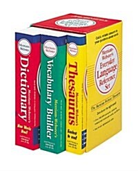 Merriam-Websters Everyday Language Reference Set: Vocabulary Builder/Thesaurus/Dictionary (Paperback)
