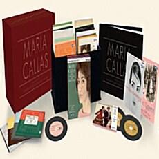 [수입] 마리아 칼라스 - 스튜디오 레코딩 전집 [오리지널 커버, 리마스터링 한정반] [69CD+Data CD-ROM]