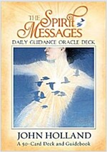 The Spirit Messages Daily Guidance Oracle Deck: A 50-Card Deck and Guidebook (Other)