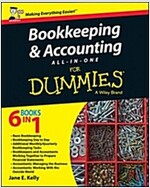 Bookkeeping and Accounting All-In-One for Dummies - UK (Paperback, UK)