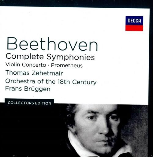 [수입] 베토벤 : 교향곡 전곡, 바이올린 협주곡 [7CD]