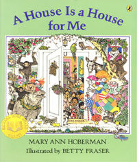 노부영 A House Is a House for Me (Paperback + CD)