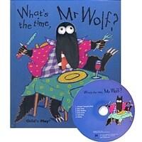 노부영 What's the Time, Mr Wolf (Hardcover + CD)