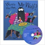 노부영 What's the Time, Mr Wolf (Hardcover + CD)