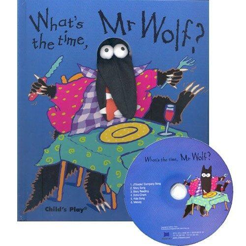 노부영 Whats the Time, Mr Wolf (Hardcover + CD)