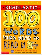 100 Words Kids Need to Read by 2nd Grade (Paperback, Poster)