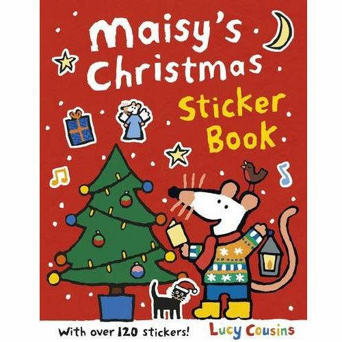 Maisys Christmas Sticker Book 메이지 크리스마스 스티커북 (Paperback)